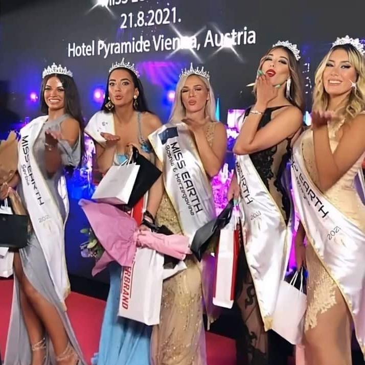 Djina Radovac, Ana Brajcic, Ines Radoncic, Ana Brzanova, Andrijana Nina Delibasic
