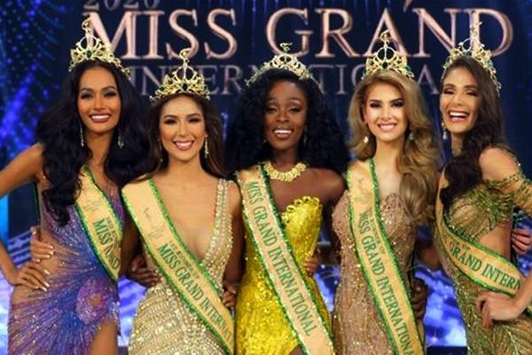 Aurra Kharishma, Samantha Bernardo, Abena Appiah, Ivana Batchelor, Lala Guedes