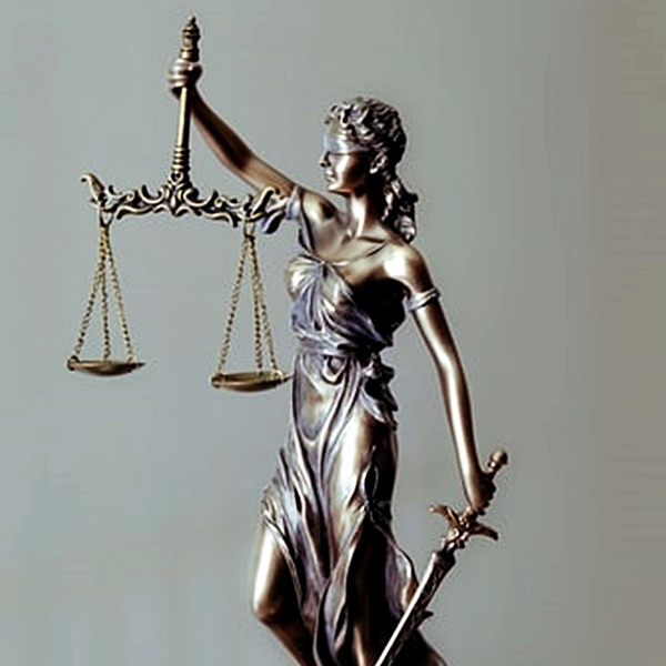 Lady Justice (©Tingey Injury Law Firm)